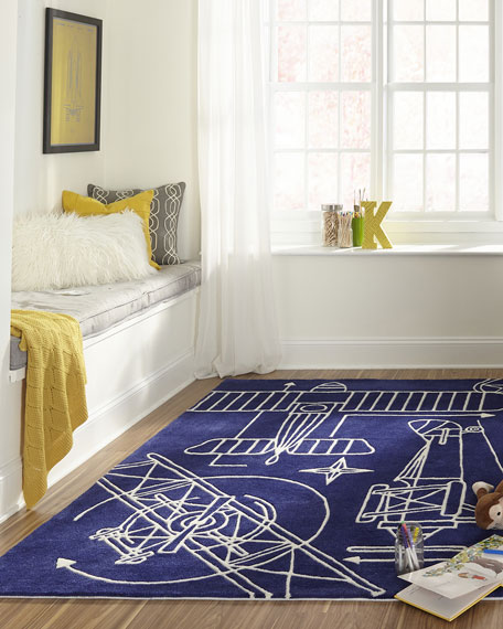 Ross Hand-Tufted Rug, 8' x 10'