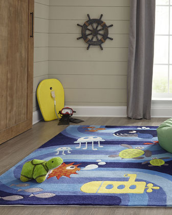 Star Hand-Tufted Rug  8' x 10'  and Matching Items