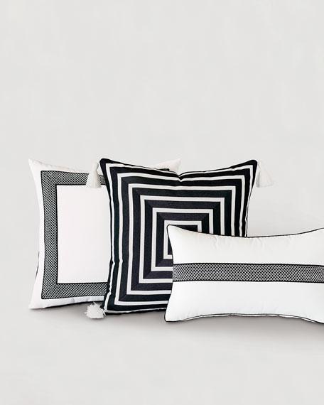 Colonial Tape Lumbar Pillow