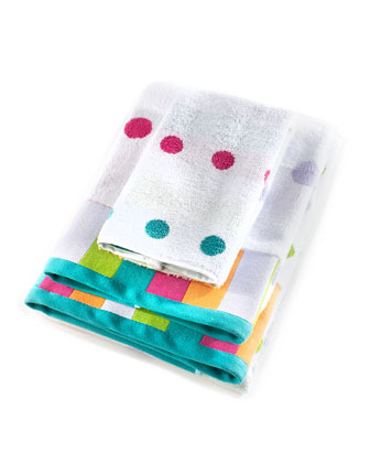 Trampoline Dot Washcloth  and Matching Items