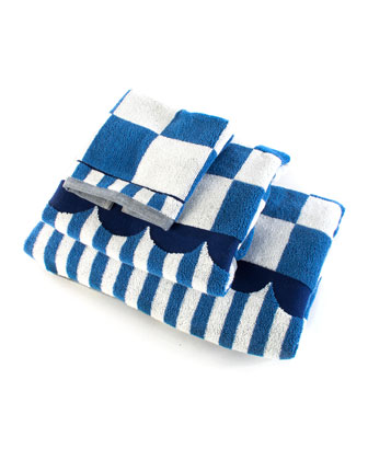 Royal Check Washcloth  and Matching Items