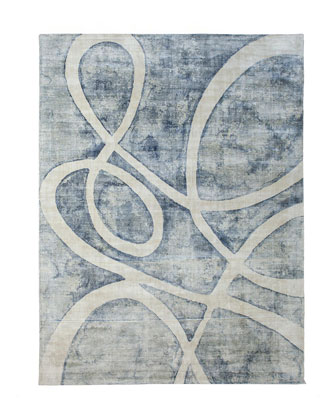 Meander Rug  8' x 10'  and Matching Items