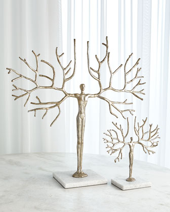 Large Tree Man Sculpture  and Matching Items