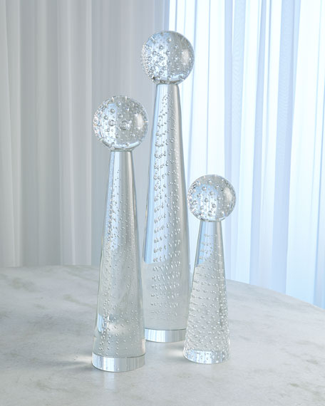 Small Tower Sphere Bubbles Obelisk