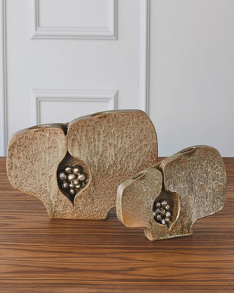Large Seed Pod Vase  and Matching Items