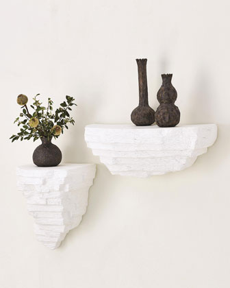Viala Sculptural Wall Shelf - Small  and Matching Items