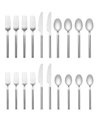 mott street 5-piece flatware set  and Matching Items