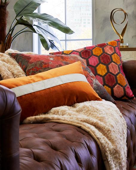 Spray Paint Decorative Pillow