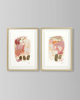 Rosette II Art Print by Jennifer Poe  and Matching Items