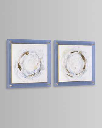 Halcyon Whirl I Giclee Art  and Matching Items