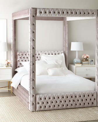 Astrid King Canopy Bed  and Matching Items