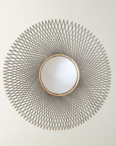 Spokes Mirror with Ball Points