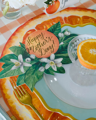 Orange Orchard Tablescape Collection  and Matching Items