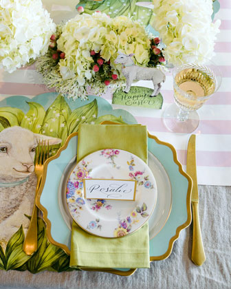 Little Lamb Placemats  and Matching Items