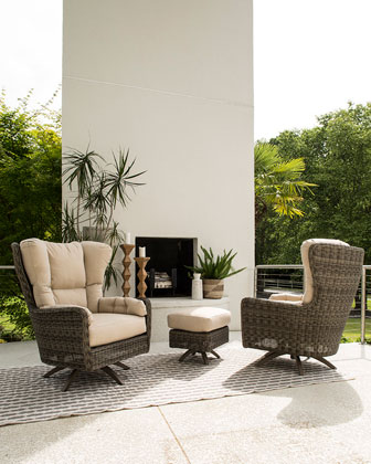 Cocoon Ottoman  and Matching Items