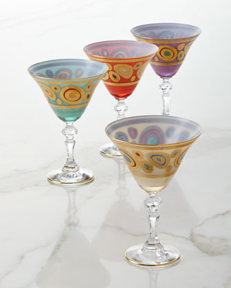 Regalia Aqua Martini Glass and Matching Items