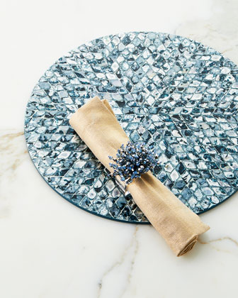 Metallic Linen Napkin and Matching Items