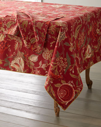 Sequoia Berry Napkins  Set of 4  and Matching Items