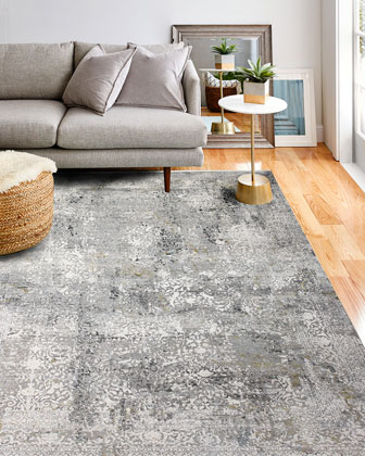 Hillscape Power-Loomed Rug  9.6' x 13.6' and Matching Items