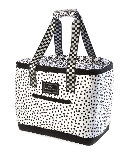 MacKenzie-Childs The Boat Tote Dotty Insulated Tote Bag