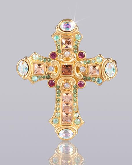 """Christian"" Cross Pin"