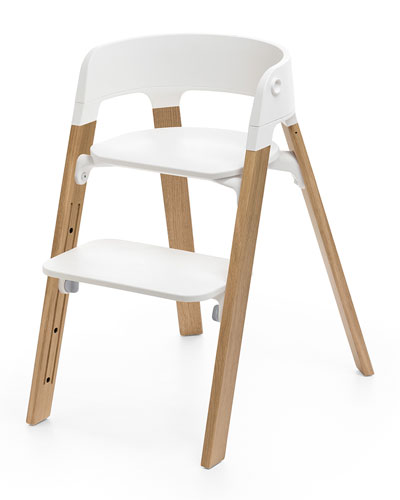 Steps™ Chair Legs  Oak Natural