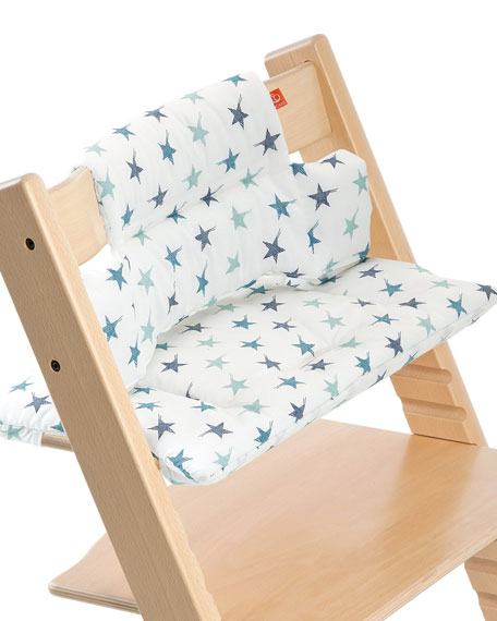 Tripp Trapp® Seat Cushion, Aqua Star