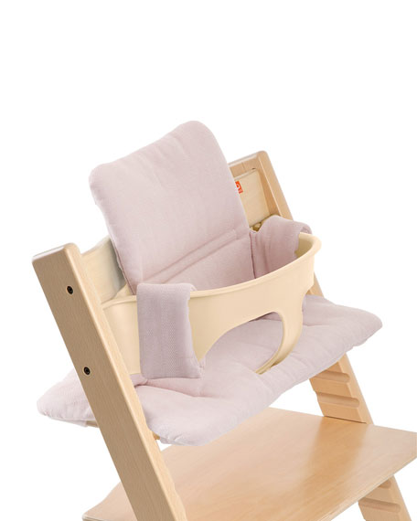 Tripp Trapp® Seat Cushion, Pink Tweed