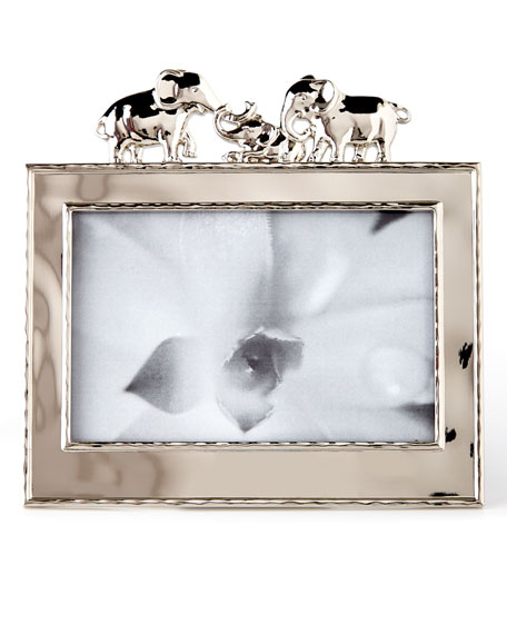 "Elephant 4"" x 6"" Picture Frame"
