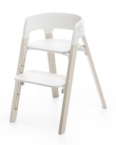 Steps Complete Chair, White