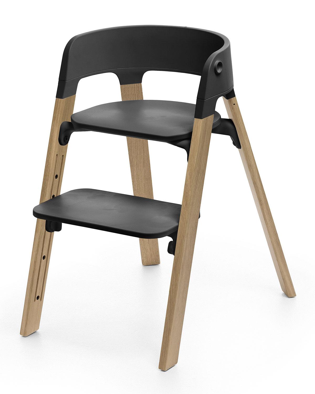 Stokkesteps Complete Chair Light Brown