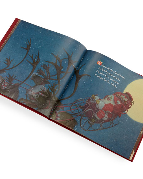 personalized the night before christmas the classic edition book
