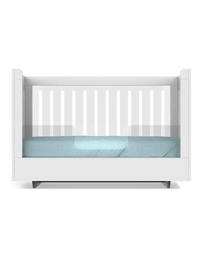 Roh Crib Conversion Kit  White/Acrylic