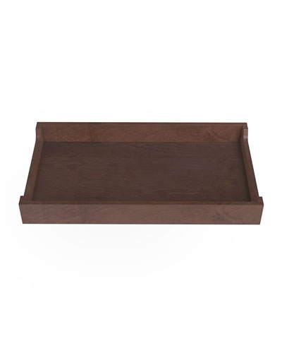 34 Changing Tray  Walnut