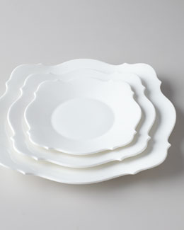 "Jasper Conran for Wedgwood ""Baroque White"" Dinnerware"