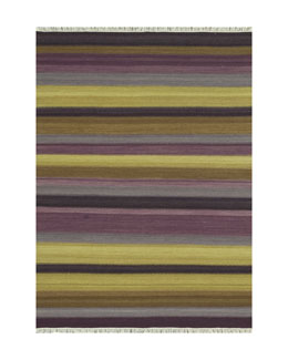 """Emelion"" Striped Rug"