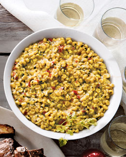 Bourbon Creamed Corn