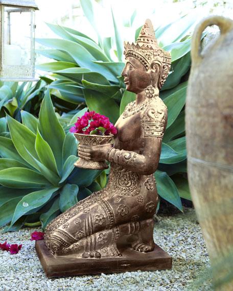 Kneeling Statue