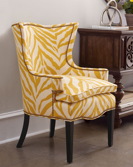 Quot Sunflower Zebra Quot Chair