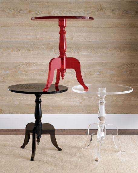 Amazing Acrylic Side Table