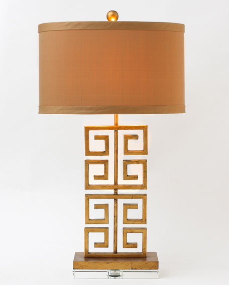 Greek key table lamp mozeypictures Gallery