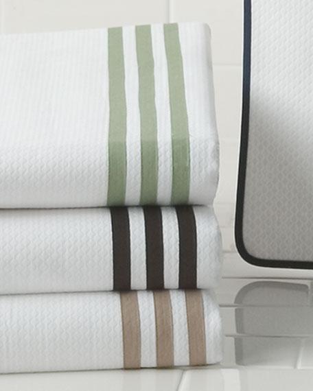 Newport Monogrammed Shower Curtain