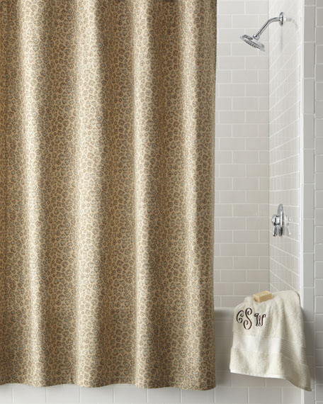 Leopard-Print Shower Curtain