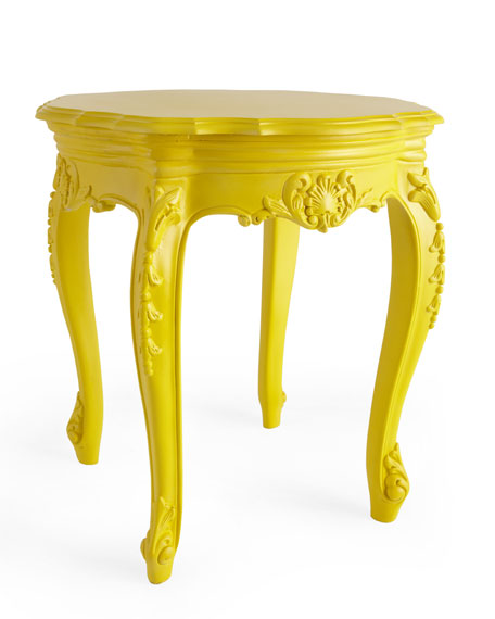 OUTDOOR BAROUQUE SIDE TABLE