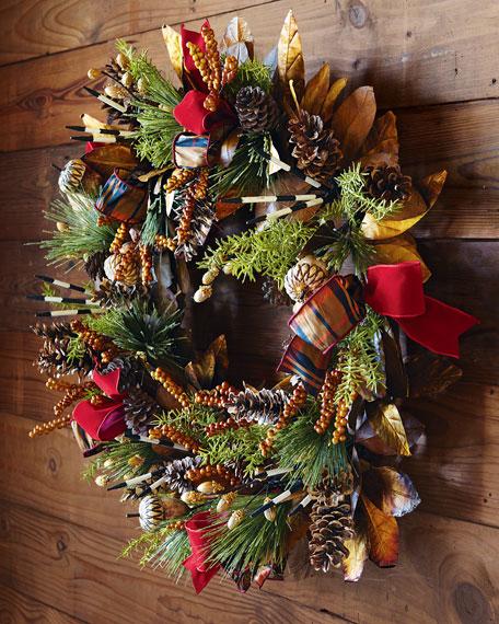 """Alpine"" Wreath"