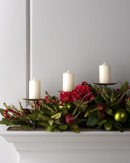 """""""Bordeaux"""" Candle Centerpiece"""