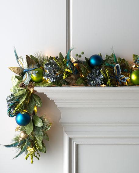 """Blue Spruce"" Pre-Lit Holiday Garland"
