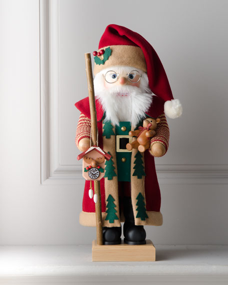 Nutcracker Santa in Bordeaux