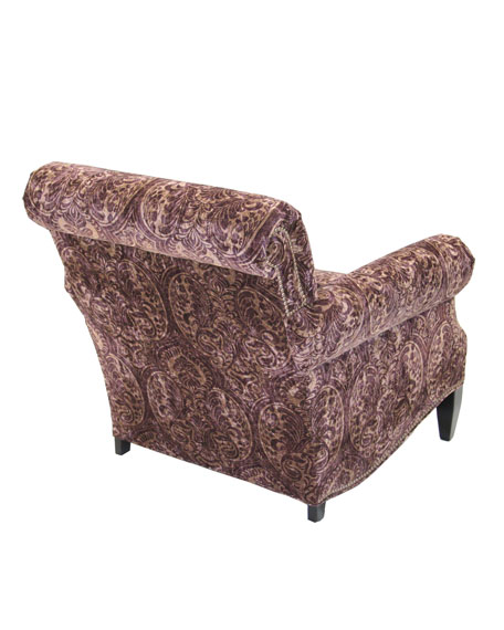Paisley Merlot Chair