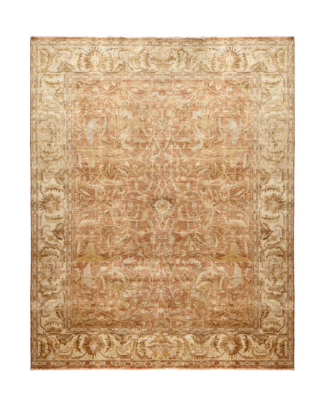 """Red Ginger"" Oushak Rug, 9' x 12'"